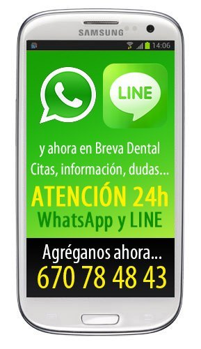 Whatsapp y Line