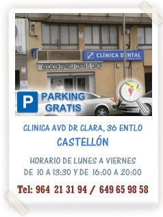 Clinica Dental Avda Dr. Clara Castellon
