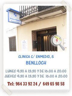 Clinica Dental en medio Benlloch